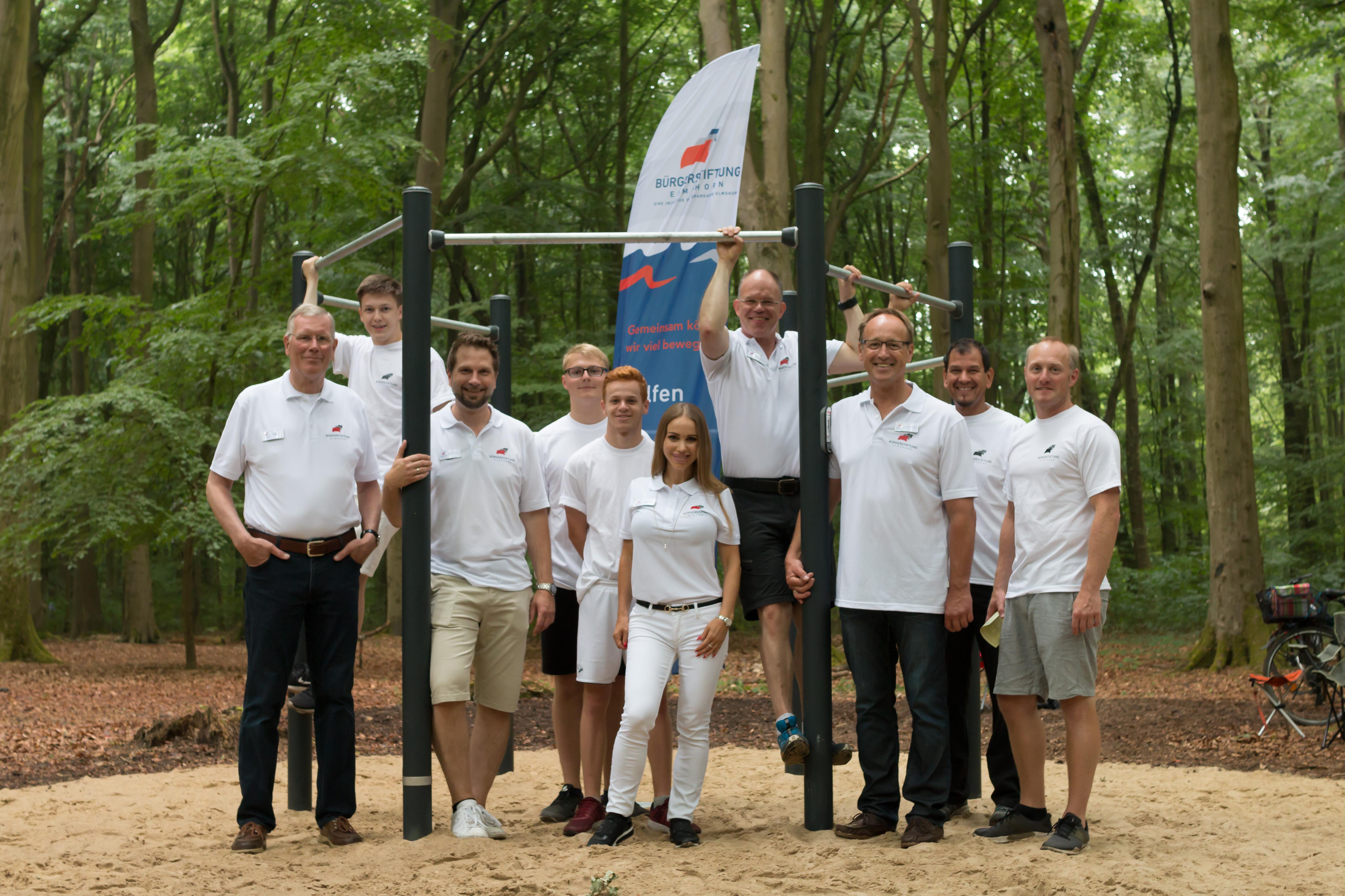 Liether Waldfest und Eröffnung Trimmpfad